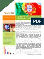 Comunicado PSD Peniche Resultados Legislativas