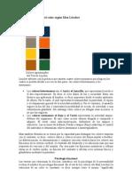 Teoría psicológica del color según Max Lüscher