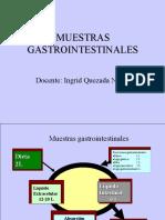 MUESTRAS GASTROINTESTINALES