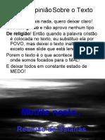 ---- ----   ---  --  Recomendo Verrrrr --------Reuniao_do_Mal ------- Recomendo Verrrr