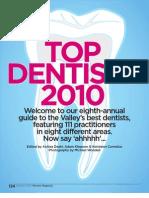 Phoenix Magazine Top Dentists