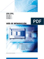 OMRON GUIA RÁPIDA CP1L PROGRAMACIÓN