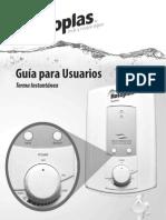 Manual Terma Instantanea