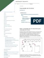 Adobe InDesign CS4 _ Impressão de livretos