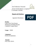 Prácticas procesos de manufactura