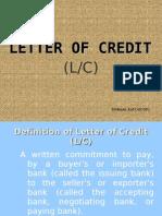 B-letter of Credit