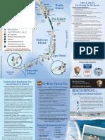 Hatteras Beach Driving Brochure