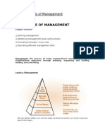 CH 1 Fundamentals of Management