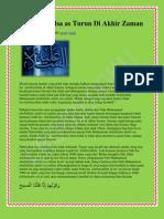 2.Nabiyullah Isa as Turun Di Akhir Zaman-Www.crosblogku.blogspot