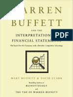 Financial Statements of Warren Buffett
