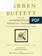 Financial Statements of Warren Buffett