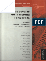 Sandra R. Fernández - El revés de la trama. Contexto y problemas de la historia regional y local en Las escalas de la historia comparada Tomo 2