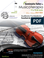 Anuncio 01 Seminario de Musicoterapia I[1]