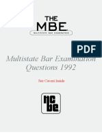 MBEQuestions1992_011310