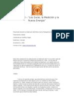 """Lección 5-1 – """"Los Guías, la Medición y la Nueva Energía"""""""