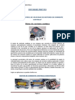 Arranque y Control de Velocidad de Motores de Corriente Continua