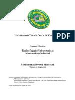 2 Manual Admin is Trac Ion Del Personal TSU MI 2009