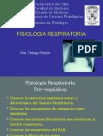 Medicina - Fisiología. Respiratoria