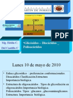 11 Glicosidos Disacaridos Polisacaridos