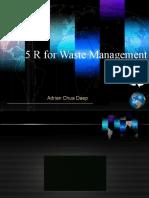 5 R for Waste Management