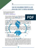 Competitividad de Colombia frente a los países de américa del sur y a nivel mundial