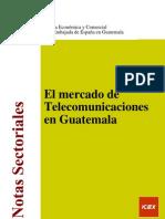 El Mercado de Telecomunicaciones en Guatemala