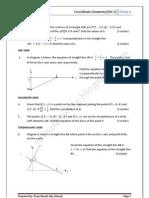 Coordinate Geometry@Set2 2010