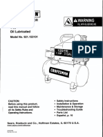 Craftsman Air Compressor Manual