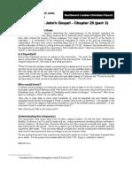 John Chapter 20 - part 3