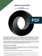 Mengenal Format JSON