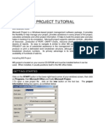 Microsoft Project Tutorial[1]