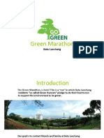 Green Marathon Proposal