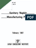 18 Sanitary Napkin Manufacturing Plant