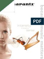 Marantz Product Catalogue 2010 2011