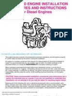 Engine Installation Procedures