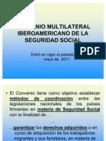 Convenio Multilateral Iberoamericano en materia de Seguridad Social