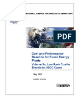 Cost and Performance Baseline for Fossil Energy Plants_25.05.2011_KN