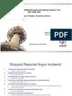 HSE-TIG Welding Incident