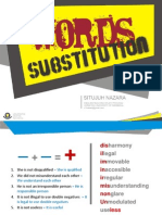 Words Substitution