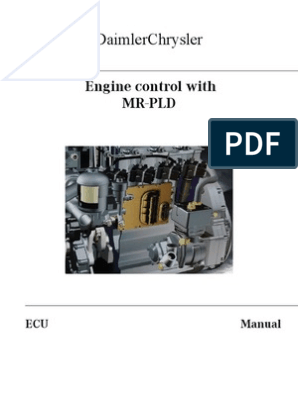 PLD Manual MERCEDES INJECTORS FUEL SYSTEM | Electrical Connector