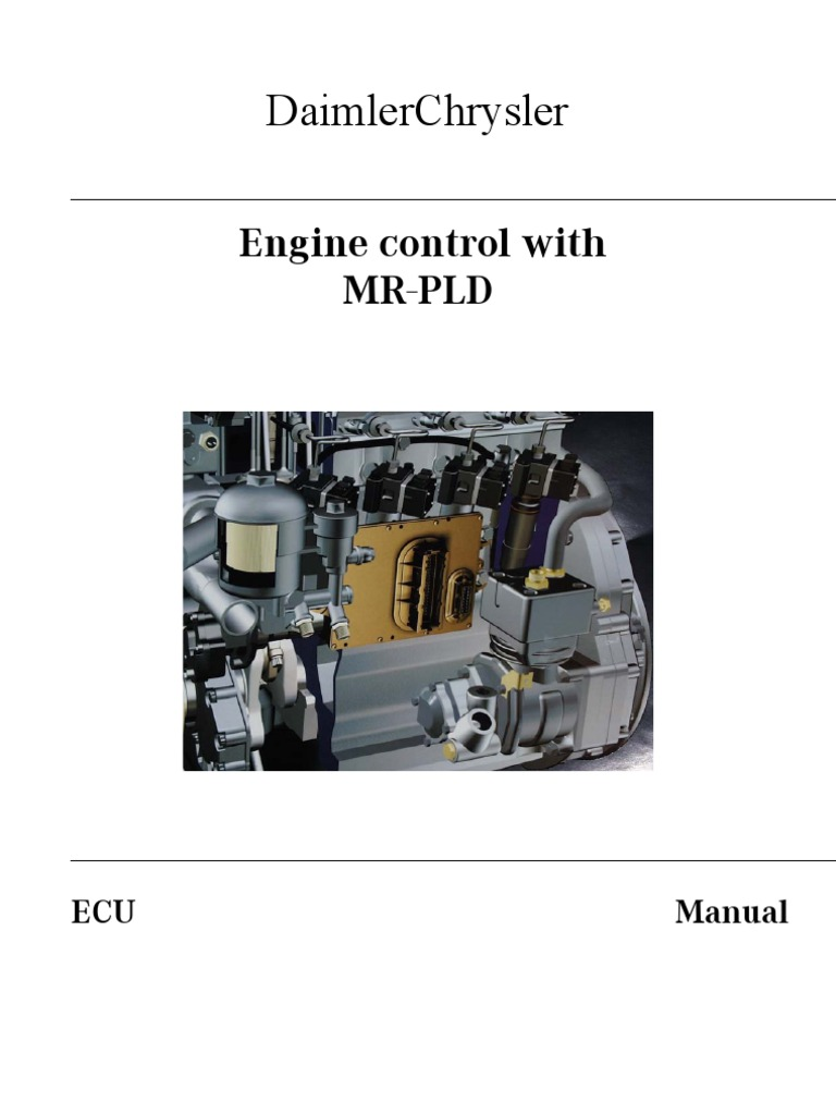 PLD Manual MERCEDES INJECTORS FUEL SYSTEM | Throttle | Diesel Engine