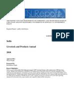 India Livestock Report