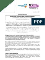 Bouygues Telecom N°1 du Podium de la Relation Client