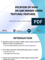 Classification of high resolution sar images using textural features
