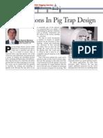 Pig Trap Design Consideration
