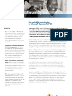 Dynamics NAV 5.0 and SQL Server 2008