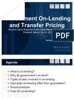 Government On-Lending and Transfer Pricing