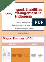 Contingent Liabilities (CL)  Management in Indonesia