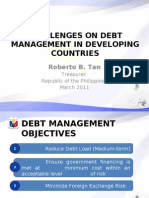 Challenges on Debt Management in Developing Countries