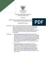 Peraturan Menteri Keuangan Nomor 81_pmk.03_2009